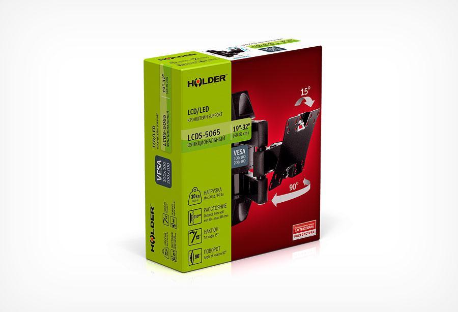 Кронштейн Holder LCDS-5065, черный