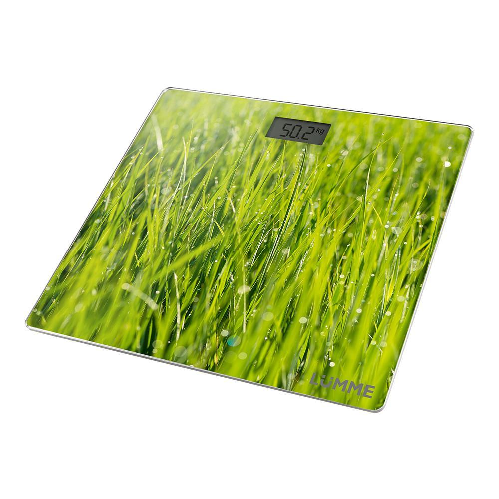 Весы напольные Lumme LU-1329, молодая трава