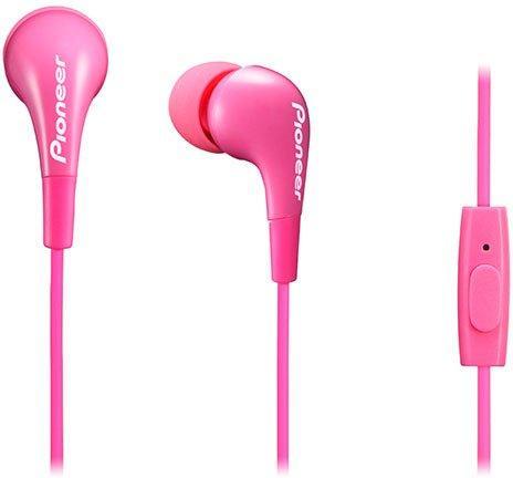 Наушники с микрофоном Pioneer SE-CL502T-P, розовый
