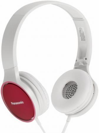 Наушники Panasonic RP-HF300GC-P, белый/красный