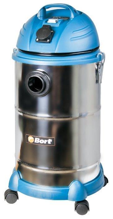 Строительный пылесос Bort BSS-1530N-Pro (91271242)