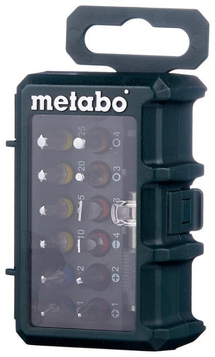 Набор бит Metabo 626703000, 15 предметов