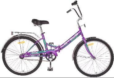 Велосипед STELS Pilot 410 20 Z011, фиолетовый