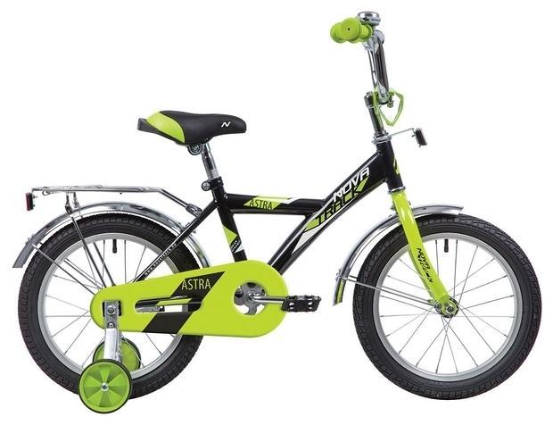 Детский велосипед Novatrack Astra 14 (143ASTRA.BK20), черный