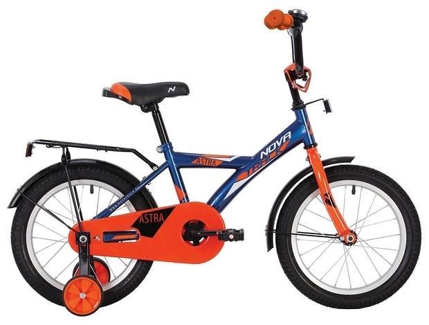 Детский велосипед Novatrack Astra 14 (143ASTRA.BL20), синий