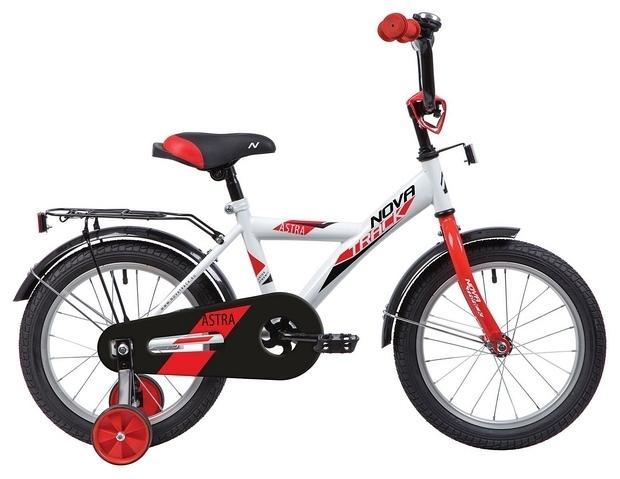 Детский велосипед Novatrack Astra 14 (143ASTRA.WT20), белый