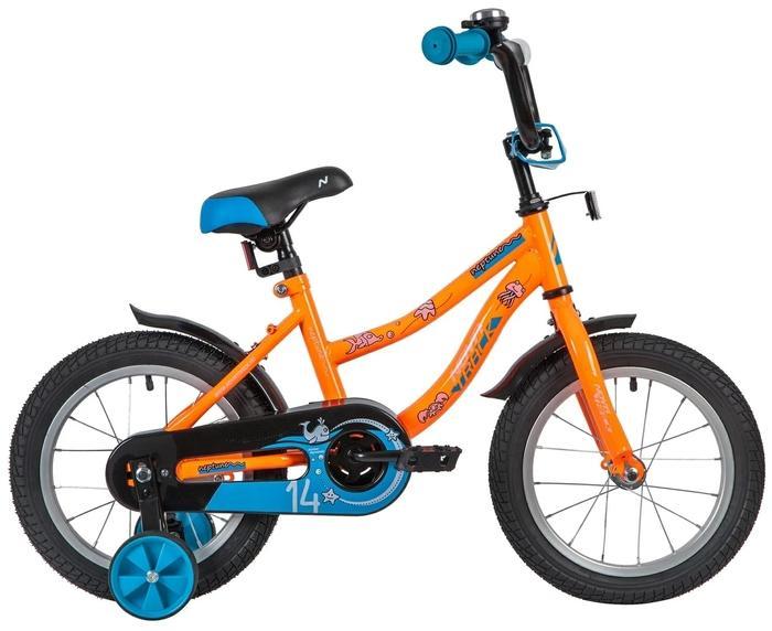 Детский велосипед Novatrack Neptune 14 (143NEPTUNE.OR20), оранжевый