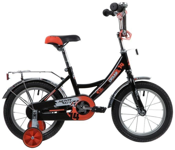 Детский велосипед Novatrack Urban 14 (143URBAN.BK20), черный