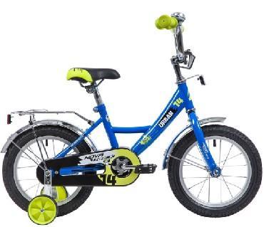Детский велосипед Novatrack Urban 14 (143URBAN.BL9), синий