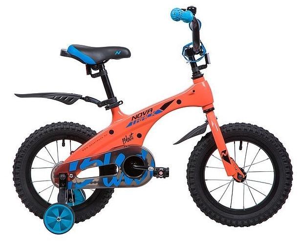 Детский велосипед Novatrack Blast 14 (145MBLAST.OR9), оранжевый
