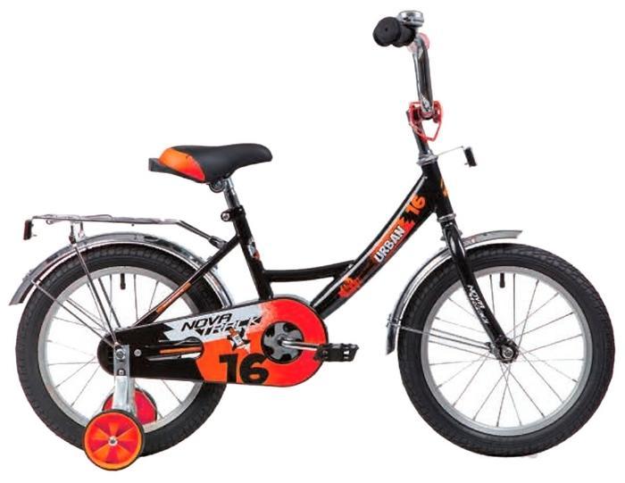 Детский велосипед Novatrack Urban 16 (163URBAN.BK20), черный