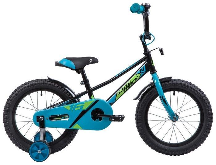 Детский велосипед Novatrack Valiant 16 (163VALIANT.BK9), черный