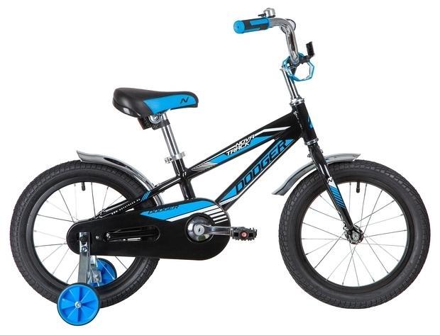 Детский велосипед Novatrack Dodger 16 (165ADODGER.BK20), черный