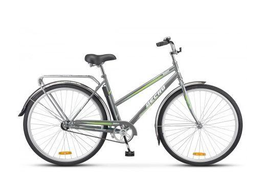 """Городской велосипед Десна Вояж Lady 28 Z010 (LU084622/LU088124), рама 20"""", серый"""