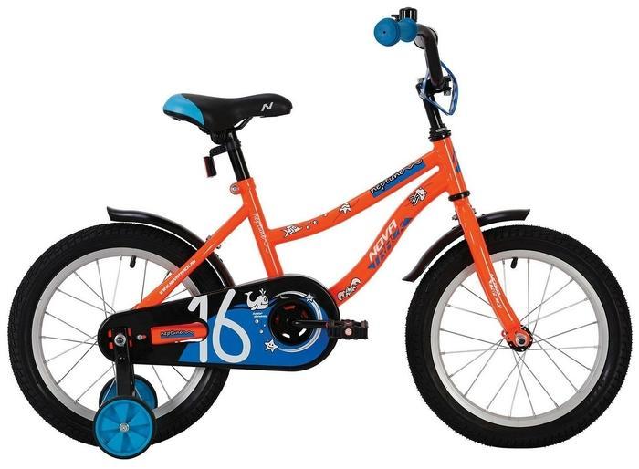 Детский велосипед Novatrack Neptune 16 (2020) (163NEPTUNE.OR20), оранжевый