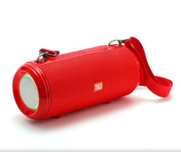 Портативная акустика T&G TG537, красный